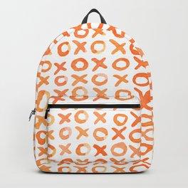 Xoxo valentine's day - orange Backpack