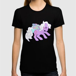 g1 my little pony flutter forget me not T-shirt