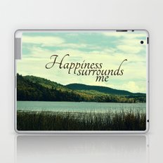 Happiness Surrounds Me Laptop & iPad Skin