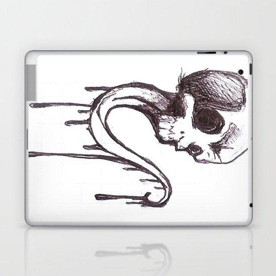 Skull sketch Laptop & iPad Skin
