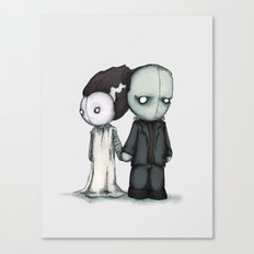 Frankie & Bride Canvas Print