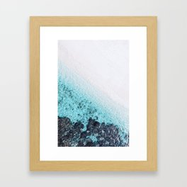 BEACH & WAVES Framed Art Print