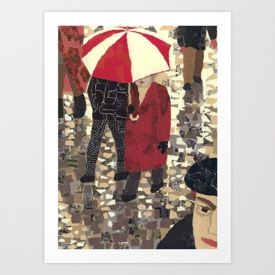 Bad weather (Mauvais temps) Art Print