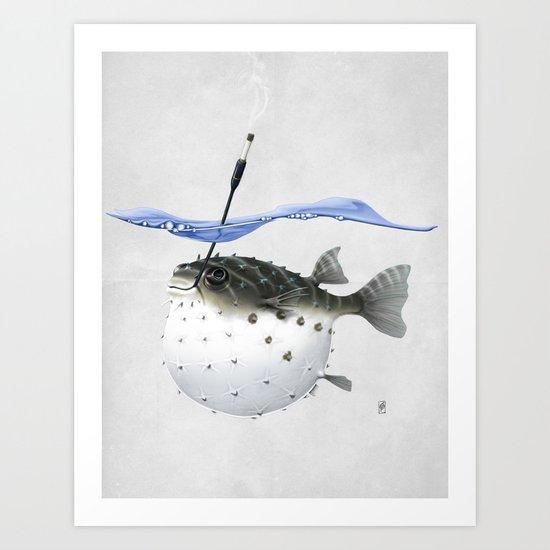 Take It Outside! (Wordless) Art Print