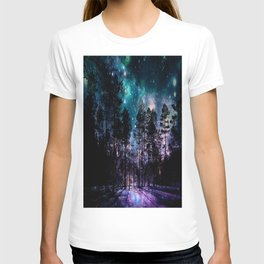 One Magical Night... teal & purple T-shirt