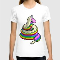 lady T-shirts featuring Lady by Naavech Verro