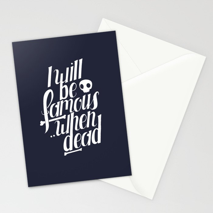 Famous.. Stationery Cards
