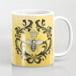 Damask Bee Coffee Mug