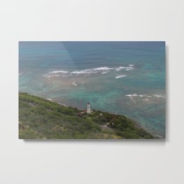 Hawaii Ocean Metal Print