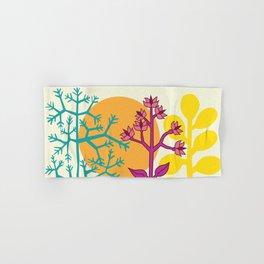 Ibiza flowers 2 Hand & Bath Towel