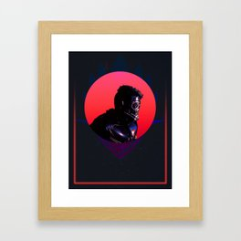 Star Lord 80's Charcter Poster Framed Art Print