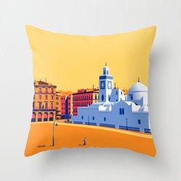 Djama'a al-Djedid Throw Pillow