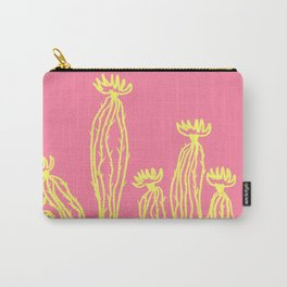 Cactus 52 lachs yellow Carry-All Pouch