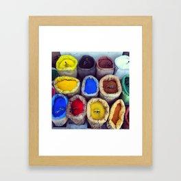 Color_01 Framed Art Print