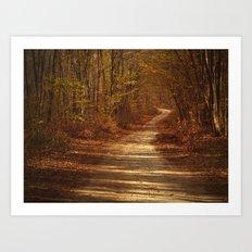 The path to nowhere Art Print