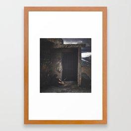 Sympathy for the Devil Framed Art Print
