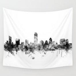 Austin Texas Skyline Wall Tapestry
