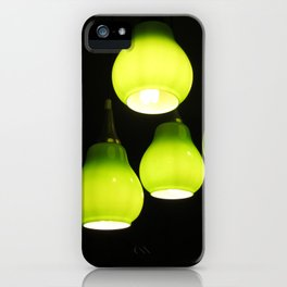 Green Lamps iPhone Case