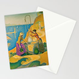 Women at the Well Stationery Cards