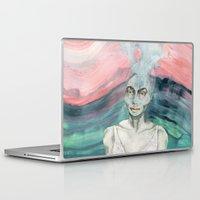 creativity Laptop & iPad Skins featuring Creativity by Nina Schulze Illustration