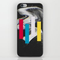 glitch iPhone & iPod Skins featuring Glitch by Mrs Araneae