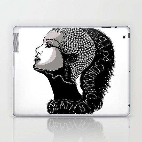 Death by Diamonds Laptop & iPad Skin