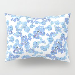 Forget me not I Pillow Sham