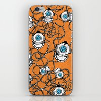 scuba iPhone & iPod Skins featuring Scuba Squad by Marc Weiss Designs