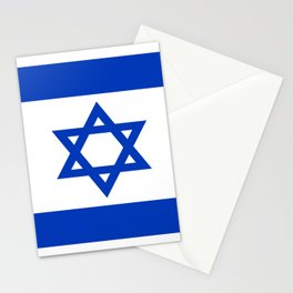Flag of Israel Stationery Cards