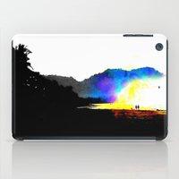 salt water iPad Cases featuring Salt Surf by Andooga Design