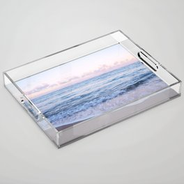 Ocean Morning Acrylic Tray