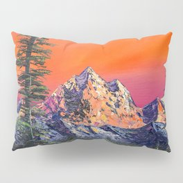 Mountains in Canada Pillow Sham