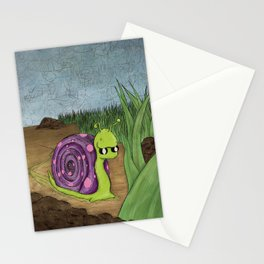 Traveling By Foot Stationery Cards