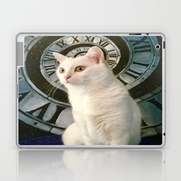 The mysterious kitty Tyche Laptop & iPad Skin