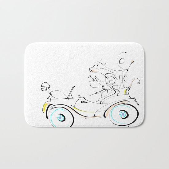 fun ride Bath Mat