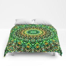 Mosaic Kaleidoscope 1 Comforters