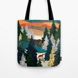 Amber Fox Tote Bag