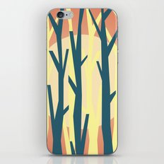 trees against the light 2 iPhone & iPod Skin