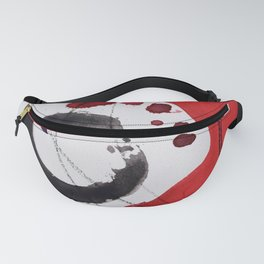 Enso Of Zen 102A by Kathy Morton Stanion Fanny Pack