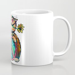 Peace Chubbycat Coffee Mug
