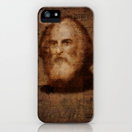 Henry Wadsworth Longfellow iPhone Case