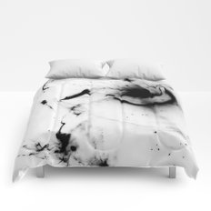 Minimalist abstract Comforters