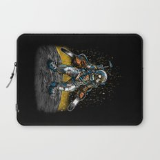 Texas Chainsaw Astronaut Laptop Sleeve