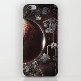 Celestial mechanics iPhone Skin