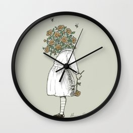Rosie - So much Imagination Wall Clock