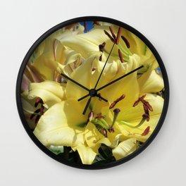 Trumpet Lily Wall Clock