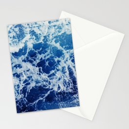 Blue Ocean Waves, Sea Photography Stationery Cards