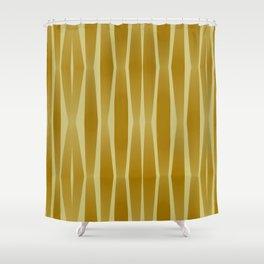 Golden line Shower Curtain