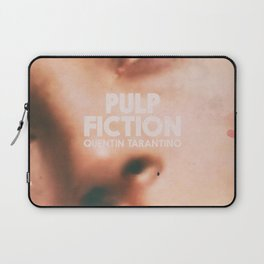 Pulp Fiction, Quentin Tarantino, alternative movie poster, Uma Thurman, Mia Wallace Laptop Sleeve