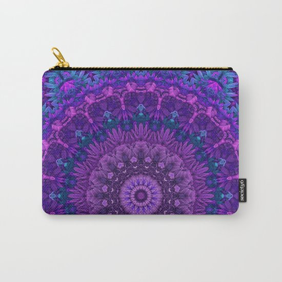 Harmony in Purple Carry-All Pouch